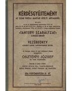Kérdésgyűjtemény az elemi iskola magyar nyelvi anyagából