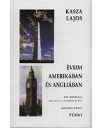 Éveim Amerikában és Angliában (Dedikált)