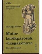 Motorkerékpárosok vizsgakönyve