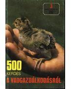500 kérdés a vadgazdálkodásról