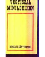 Vegyiszál minilexikon