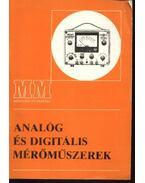 Analóg és digitális mérőműszerek