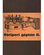 Bőripari géptan II.