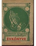 Az Országos Református Szeretetszövetség Évkönyve XIV. évf.