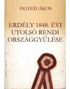 Erdély 1848. évi utolsó rendi országgyűlése