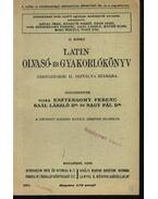 Latin olvasó- és gyakorlókönyv