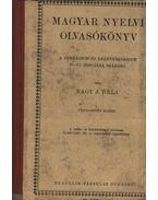 Magyar nyelvi olvasókönyv a gimnázium és leánygimnázium V-VI osztálya számára