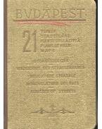 Budapest - 21 térkép, utcanévjegyzék