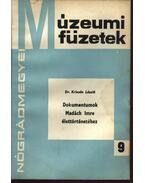 Dokumentumok Madách Imre élettörténetéhez