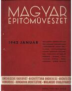 Magyar Építőművészet 1942. január