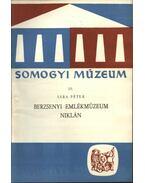 Berzsenyi emlékmúzeum Niklán