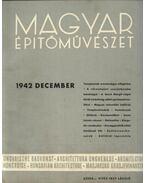 Magyar Építőművészet 1942. december