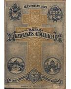 Magyar katolikus almanach III. évfolyam 1929.