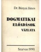 Dogmatikai előadások vázlata