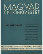 Magyar Építőművészet 1942. szeptember