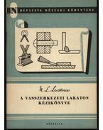 A vasszerkezeti lakatos kézikönyve