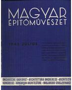 Magyar Építőművészet 1942. július
