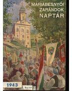 Máriabesnyői zarándok naptár 1943