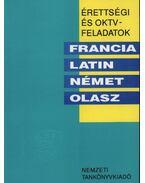 Érettségi és OKTV feladatok - Francia, latin, német, olasz 1991/92.