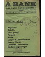 A Bank 1938. szeptember