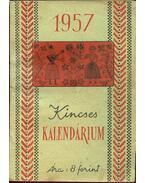 Kincses Kalendárium 1957