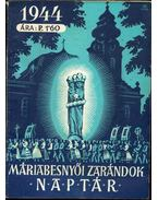 Máriabesnyői zarándok naptár 1944
