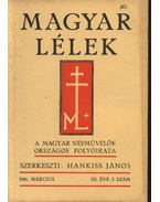 Magyar Lélek 1941. március