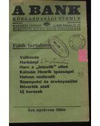 A Bank 1938. április