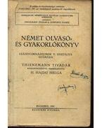 Német olvasó- és gyakorlókönyv leánygimnáziumok V. osztálya számára