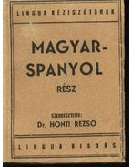 Magyar-spanyol, spanyol-magyar kéziszótár I-II. kötet