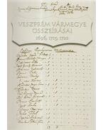 Veszprém vármegye összeírásai 1696, 1715, 1720 - Boross István, Madarász Lajos