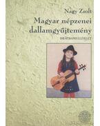 Magyar népzenei dallamgyűjtemény - brácsamelléklet