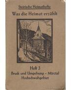 Was die Heimat erzahlt - Brauner, Franz