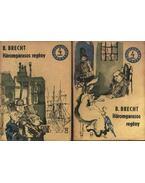 Háromgarasos regény I-II. kötet - Brecht, Bertolt