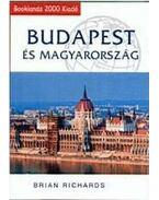 Budapestés Magyarország - ÚTIKÖNYV + TÉRKÉP - Brian Richards