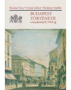 Budapest története a kezdetektől 1945-ig
