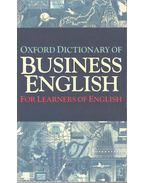 Oxford Dictionary of Business English
