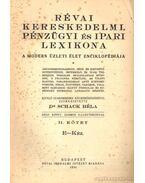 Révai kereskedelmi, pénzügyi és ipari lexikona I-IV