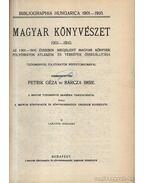 Magyar könyvészet 1901-1910 I-III. kötet