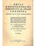 Révai kereskedelmi, pénzügyi és ipari lexikona I.-IV. kötet