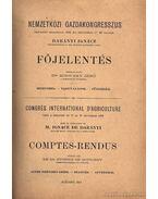 Nemzetközi Gazdakongresszus 1896 I.-II.