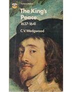 The King's Peace - C. V. Wedgwood