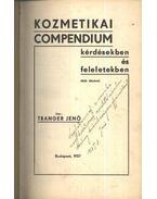 Kozmetikai compendium kérdésekben és feleletekben