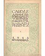 A franczia forradalom története I-III. kötet