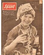 Képes Sport 1956. III. évfolyam + olimpiai különszám (hiányos)