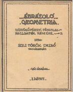 Ábrázoló geometria I. kötet (egyetemi jegyzet)