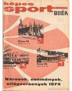Képes Sport 1974. XXI. évfolyam (teljes) két kötetben!