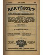Kertészet, VII. teljes évfolyam - 1930