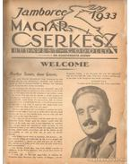 Jamboree 1933. Magyar Cserkész Budapest-Gödöllő