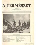 A természet 1930. XXVI. évf. (teljes)